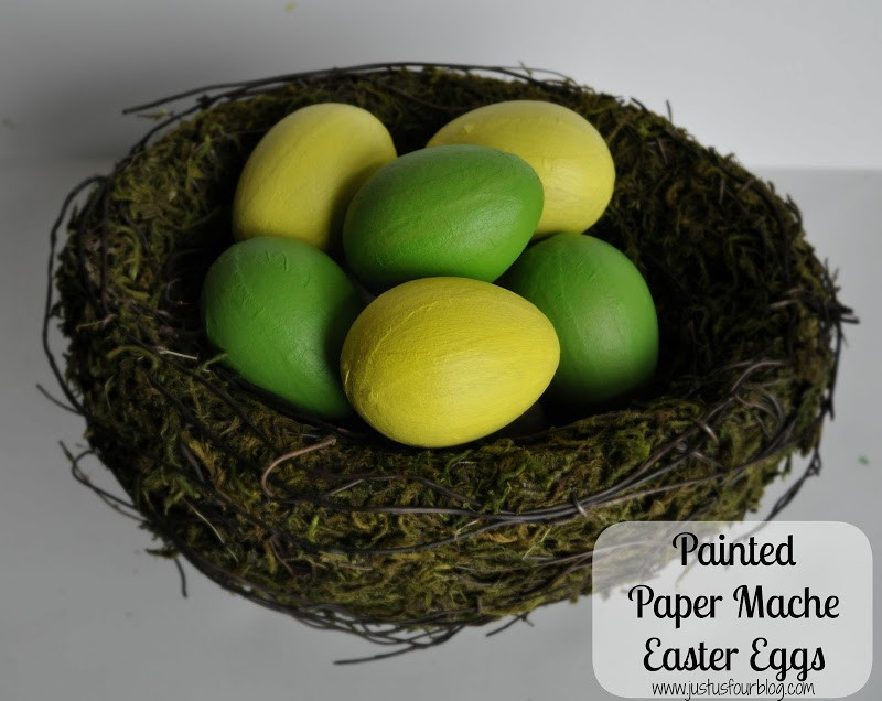 Egg Decoration – Painted Paper Mache