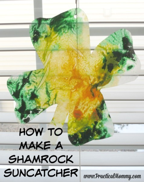 How to Make a Shamrock Suncatcher