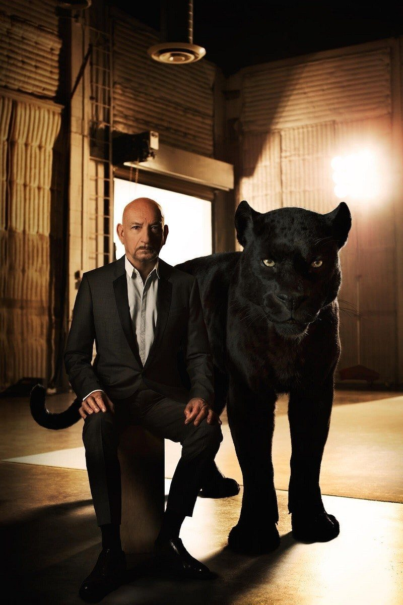 Sir Ben Kingsley - Bagheera Take a peek into Disney's The Jungle Book Intro to Shere Khan film clip for a sneak preview of what's to come in theaters everywhere on April 15, 2016.