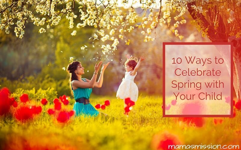 Spring is a beautiful time of the year, with the most gorgeous weather of any season. Here are 10 ways to celebrate Spring with your child and enjoy it!