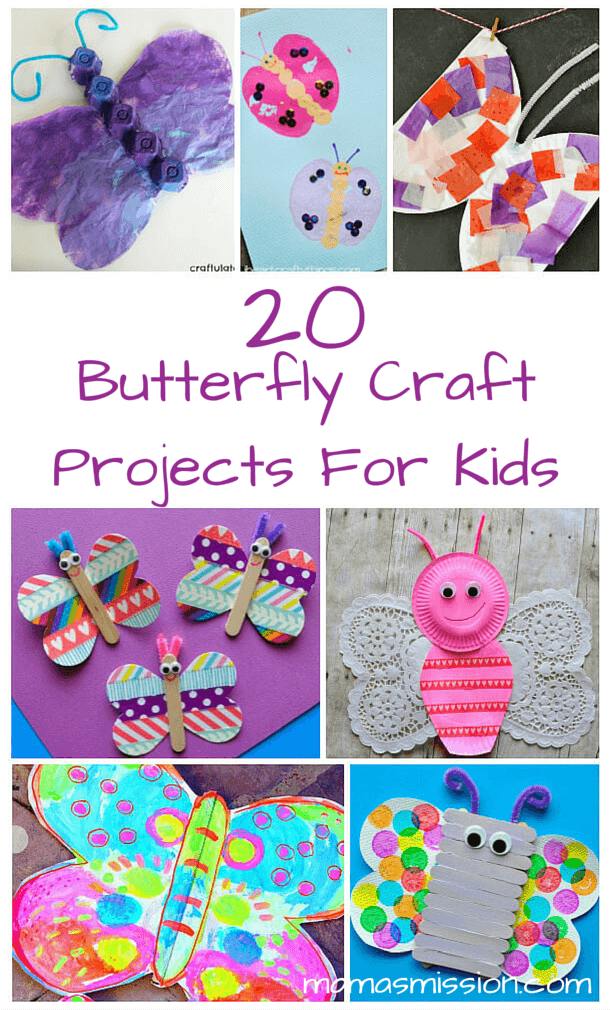 butterfly craft ideas 20 butterfly craft projects for to make 1190