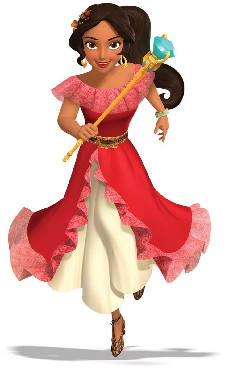 It was just announced that the new Disney Princess Elena of Avalor is coming to Disney Parks! Check out the official picture of the new Latina Princess.