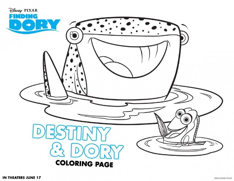 - Finding Dory Coloring Pages Printables