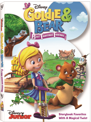 Check out latest fun and adventure coming out of Disney Junior with the new Goldie and Bear Best Fairytale Friends DVD & Books Giveaway!