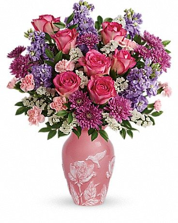 Do you know One Tough Mother? Honor that special woman in your life this Mother's Day with a bouquet from Teleflora. Enter to win Mother's Day flowers! Love and Joy Bouquet