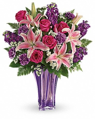 Do you know One Tough Mother? Honor that special woman in your life this Mother's Day with a bouquet from Teleflora. Enter to win Mother's Day flowers! Luxurious Lavender Bouquet