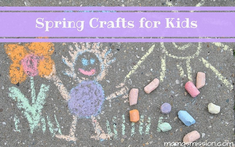 These fun and easy 5 spring crafts for kids will be a blast to do together, or on their own. Try something new like an herb garden, or make your own kite!