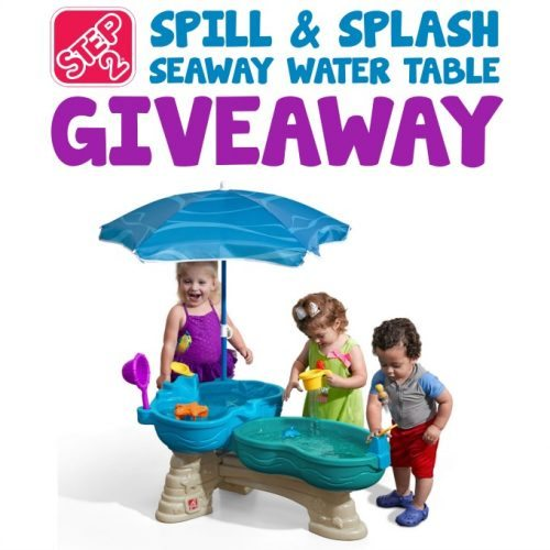 Step2 Spill and Splash Seaway Water Table Giveaway