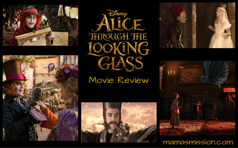 Alice has returned! Curious about the movie and if you should see it? Read the Alice Through The Looking Glass movie review to help you decide, no spoilers.