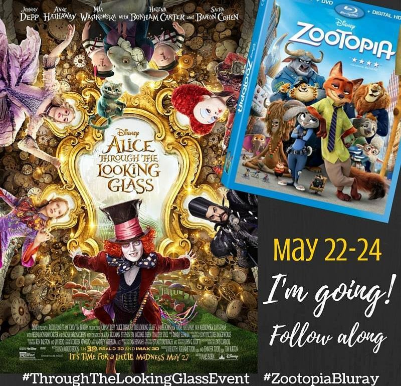 Come follow me and Alice Through The Looking Glass in L.A.!!! I've been invited to the Red Carpet premiere and I am taking you with me on my journey.