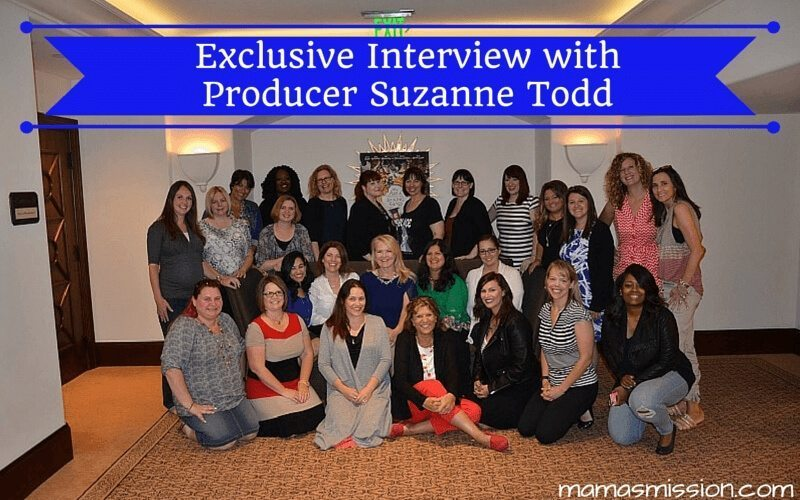 Sitting down for an interview with Producer Suzanne Todd of Alice Through The Looking Glass was a great honor. She's an amazing woman with a heart of gold!