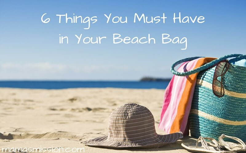 Summer is here and so is the perfect weather for hitting the beach. Be ready to go with these 6 things you must have in your beach bag!
