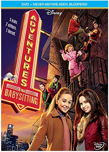 The Disney Channel Original Movie Adventures in Babysitting is now out on DVD. Enter to win a copy of your own for your next movie night!