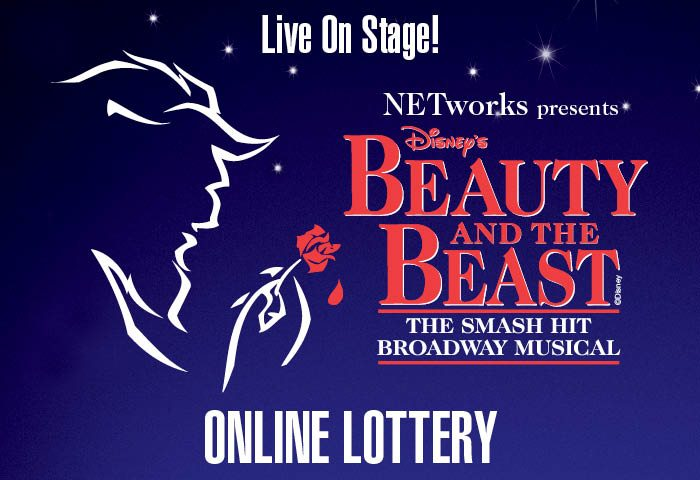 Here's your chance to see Disney's Beauty and the Beast on stage at the Broward Center for only $28 through the Beauty and the Beast Ticket Lottery!
