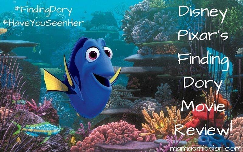 Have you seen her? Headed to the movies? Check out our Finding Dory movie review to see a college kids perspective as well as my thoughts - no spoilers.