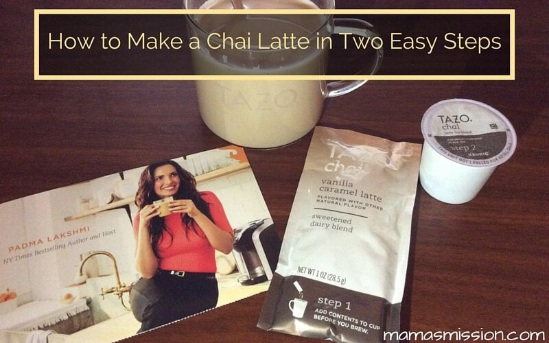 If you've never enjoyed the pleasant aroma of a chai latte you are missing out! Allow me to show you how to make a chai latte at home in two easy steps.