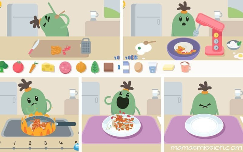 Looking for a fun way to learn about safety in the kitchen for kids? There's a new app that focus on role play while teaching safety in a fun way!