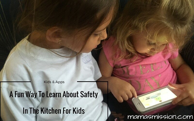 Learn About Safety In The Kitchen For Kids(1)