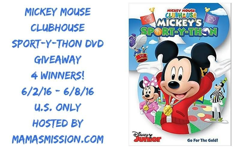 Check out the brand new Mickey Mouse Clubhouse compilation Mickey's Sport-Y-Thon DVD! Bonus Free Gold Mickey Medal with each DVD purchase.