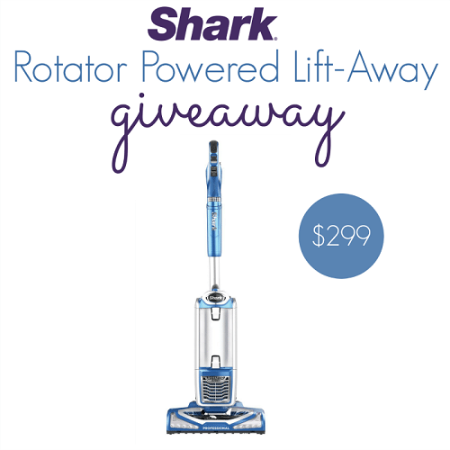Are you in the market for a new vacuum? Learn more about the Shark Rotator Powered Lift-Away Speed vacuum and enter the giveaway to win one!