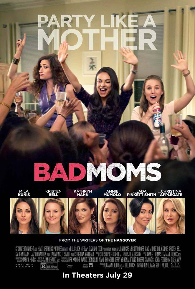Enjoy a Bad Moms Night Out and enter to win Bad Moms Advance Screening passes which includes a pre-screening cocktail hour!