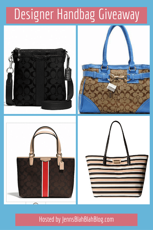 It's time to show readers our appreciation with our reader appreciation Designer Handbag Giveaway! Enter to win a handbag of choice from select designers.