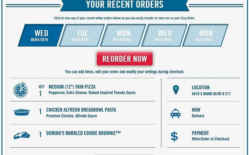 Are you ready to have your piece of the pie rewards and eat it too? Eat and earn free pizza from Domino's with their new Piece of the Pie Rewards!