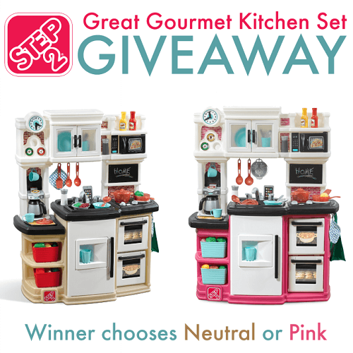 It's time to let their imaginations run wild in the kitchen. Help foster the love of cooking with pretend play with the Step2 Great Gourmet Kitchen Set.