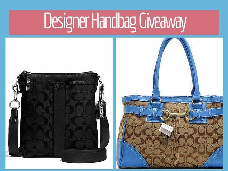 It's time to show readers our appreciation with the Monthly Reader Appreciation Designer Handbag Giveaway! Enter to win your choice of a designer handbag!
