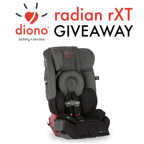 September is Baby Safety Month and our friends over at Diono have some tips to share, plus enter to win a Diono Radian RXT Convertible + Booster Car Seat.