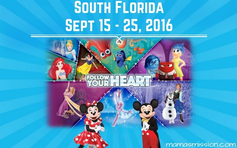 Enter to win tickets to see Disney On Ice presents Follow Your Heart! Come meet all your favorite characters from Finding Dory, Frozen, and Inside Out.