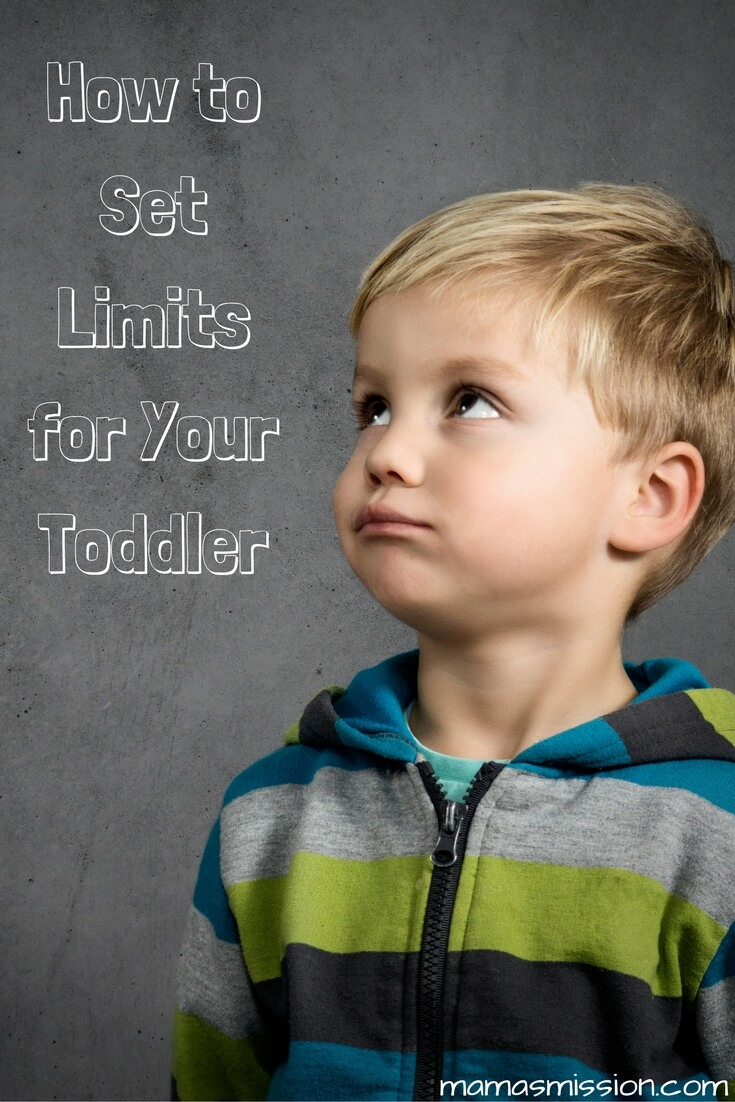Toddlers need limits, without them they will bounce off walls. You'll be back in control if you follow these steps for how to set limits for your toddler.