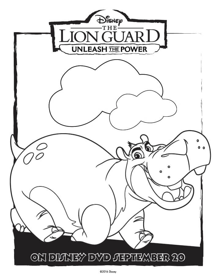 unleash the power with these great the lion guard coloring pages and activity page full - Lion Coloring Pages