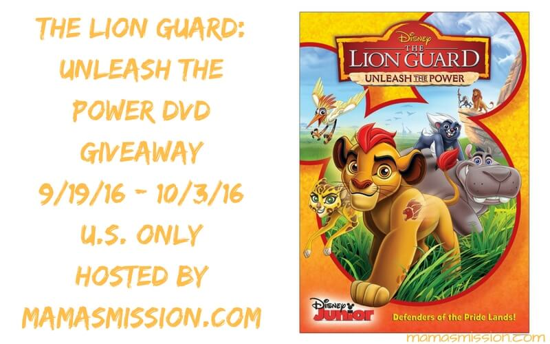 Join Kion, Bunga, Ono, Beshte and Fuli as they head out on an adventure to defend the Pride Lands in The Lion Guard Unleash The Power DVD!