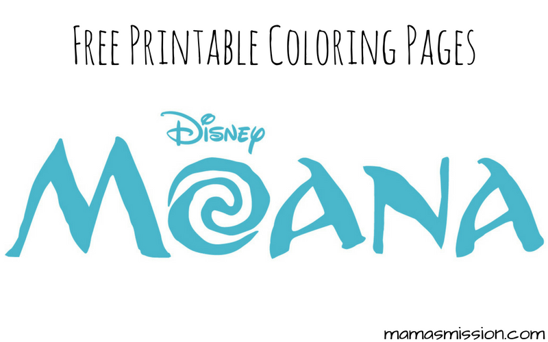 Disney Moana coloring pages are now available to download and print for free! Print and color in Moana and her friends with these Moana coloring pages.