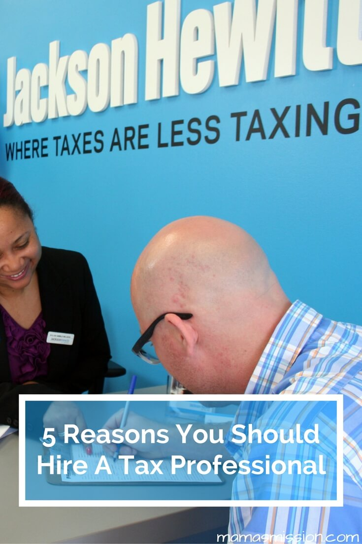 There are big advantages to hiring a tax professional to file your taxes this coming new year. Here are 5 reasons why you should hire a tax professional.