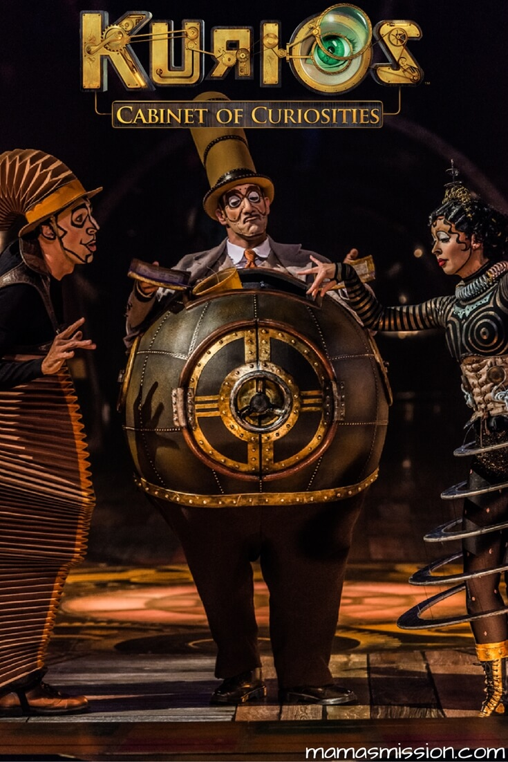 Curiosity abounds in Cirque Du Soleil KURIOS - Cabinet of Curiosities. See the show - enter to win the Cirque Du Soleil KURIOS tickets giveaway!