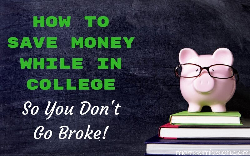 There is nothing cheap about a higher education. College life is expensive. Here are 5 ways on how to save money while in college so you don't go broke.