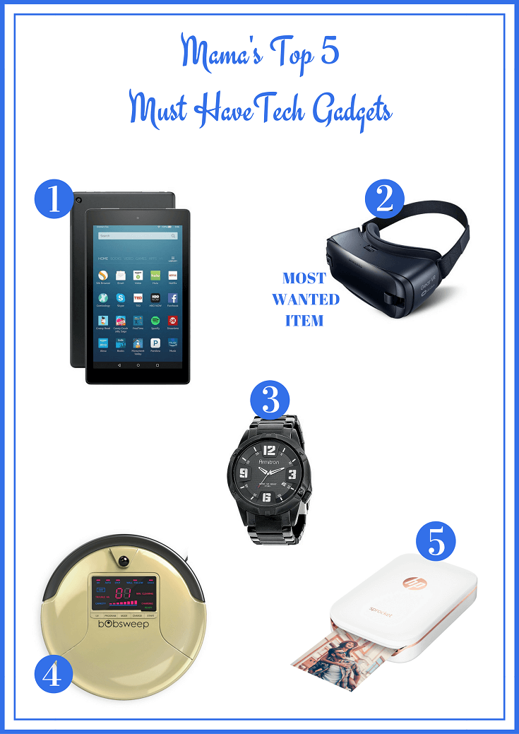 Whether shopping for a tech novice or savvy geek, here are the Top 5 Must Have Tech Gadgets sure to please everyone on your gift giving list!