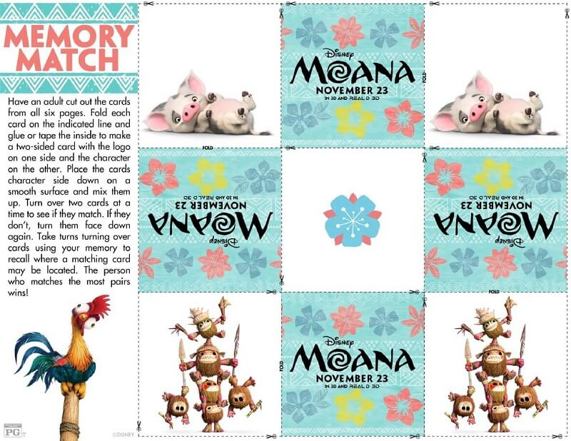 Free printable Moana activity sheets are now available for you to download and print for free! Grab these and the coloring pages to create an activity book.