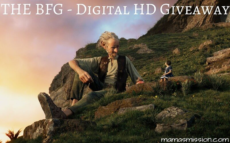Own The BFG on Digital HD, Blu-ray or Disney Movies Anywhere! Enter to win a copy of The BFG on Digital HD for your next family movie night.
