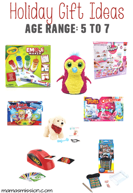 Still looking for the perfect holiday gifts for kids ages 5 to 7? Look no further because Mama's got you covered with a hot list of toys kids love!