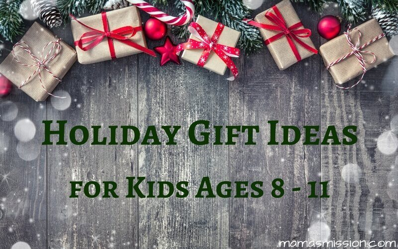 Still looking for the perfect holiday gifts for kids ages 8 to 11? Look no further because Mama's got you covered with a hot list of toys kids love!