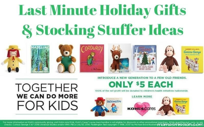 Looking for a last minute gift or stocking stuffer ideas that won't break your budget? These specially selected items, that give back, average $5 each!
