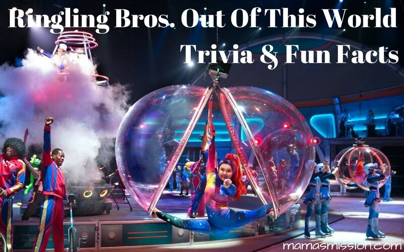 "Test your knowledge with Ringling Bros. trivia and fun facts and learn a few things about the newest Rngling Bros. show ""Out Of This World""!"