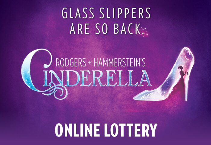 Here's your chance to see Cinderella on stage at the Broward Center for only $25 through the Rodgers and Hammerstein's Cinderella Ticket Lottery!