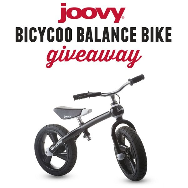 A balance bike can help a child learn coordination. Learn more about the Joovy Bicycoo and enter to win one in the Balance Bike Giveaway!