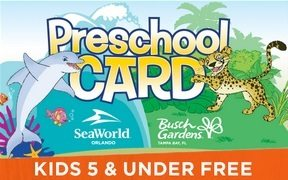 busch gardens admission. Get Free Admission For Your Kids Ages 5 And Under All Of 2017 With The Busch Gardens