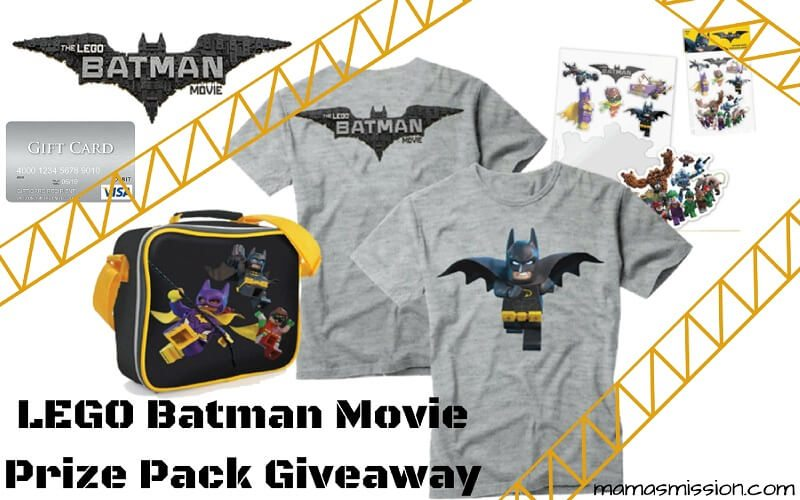 Know someone that loves LEGO's and Batman? The LEGO Batman Movie is hitting theaters on February 10th. Enter to win the LEGO Batman Movie Giveaway!