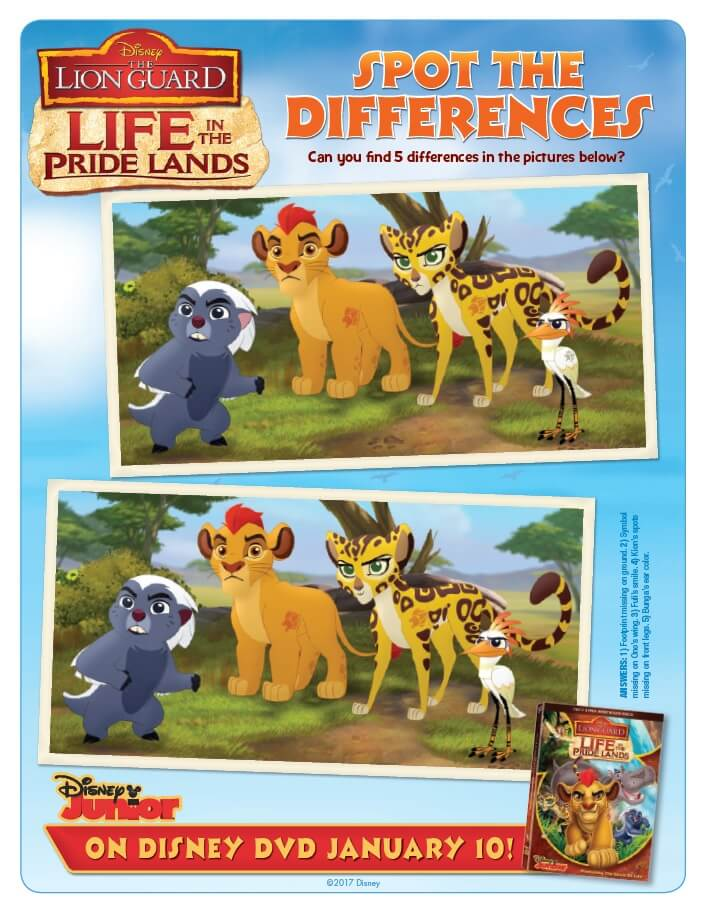 Download and print these free printable The Lion Guard coloring pages & activity sheets to explore Life in the Pride Lands with your Lion Guard friends.